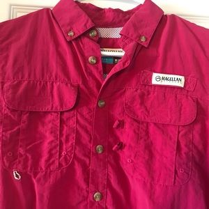 Magellan Fish Gear Shirt Girls Size 10/12 M